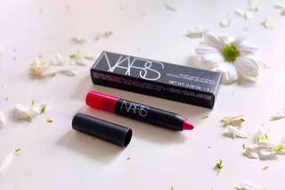 Nars Velvet Matte Lip Pencil (let's go crazy)