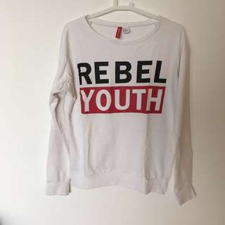 H&M Rebel Youth sweater