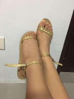Gold flats