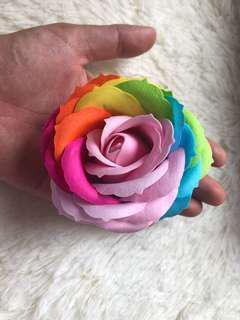 特大 玫瑰香皂花 素材