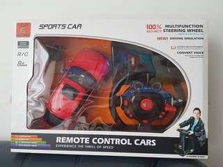 1/14 RC BMW X6M with pedals and steering wheels