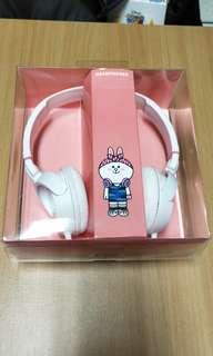 🚚 Line兔兔耳罩式耳機
