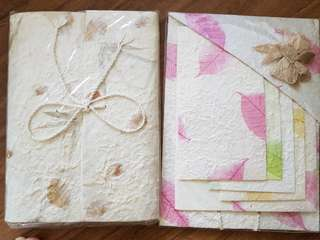 Dried flowers stationary