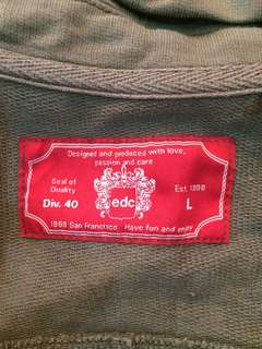 Authentic EDC brown jacket