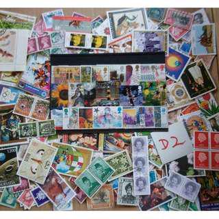 World Mix Stamps 500 pcs lot D2 BL669