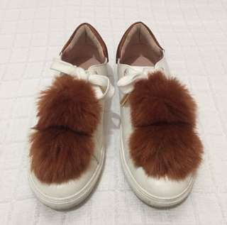 TOPSHOP FUR SHOES