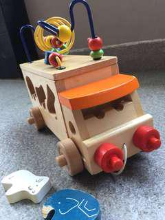 Wooden Cars toy