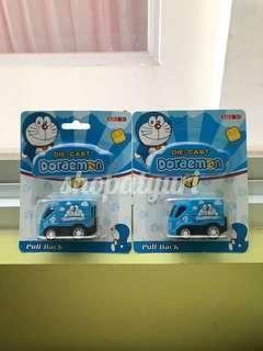 Mobil Doraemon Truck Doraemon Mobil-Mobilan Die Cast Mobil Mini Figurin