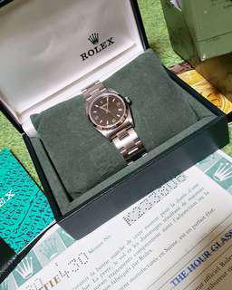 AUTHENTIC ROLEX UNISEX JUNIOR SIZE
