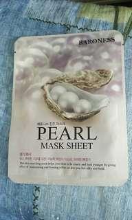 韓國 Baronrss Pearl Mask Sheet 面膜 21g