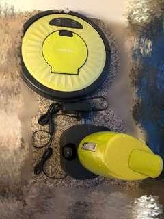 平!自動吸塵機 韓國製 包配件電線