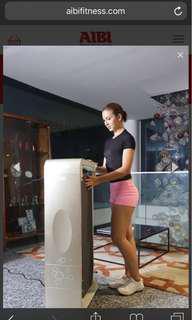 AIBI EZ tone desk treadmill (gold)
