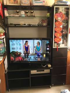 TV Cabinet and glasses cabinet (pick up Tuen Mun town plaza)