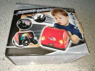 Racing driver from toys r us