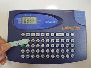 Casio label printer