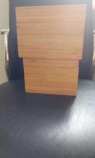 Ikea 全新竹制4合一收納盒