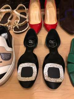 🚚 RV方鑽平底鞋