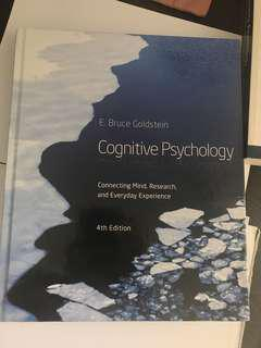 Cognitive Psychology 4th Edition Bruce Goldstein
