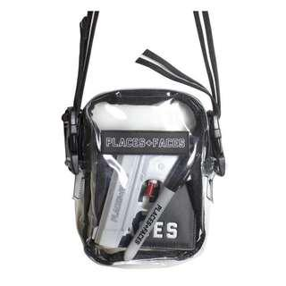 Places And Faces Sling Bag Clear