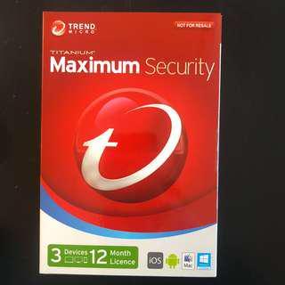 Trend Micro Titanium Security