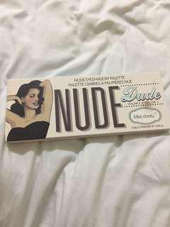 The Balm Eyeshadow Palette Nude Dude Vol2