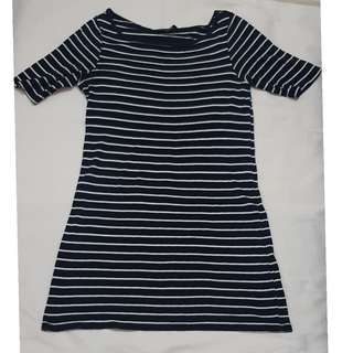 Dorothy Perkins stripes tunic