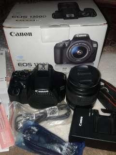 Jual kamera dslr canon 1300d