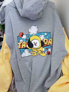 💜(LIMITED EDITION)💜 BT21 CHIMMY ZIP-UP HOODIE