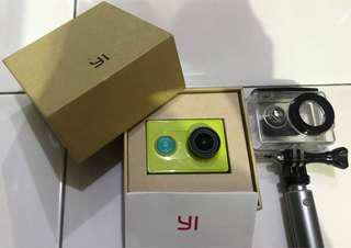 Xiaomi Yi Action Camera Komplit