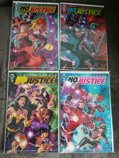 Justice League: No Justice Comics