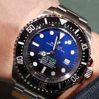 ROLEX DEEPSEA D BLUE 116660