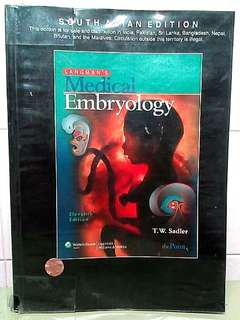 Langman's Medical Embryology South Asian 11th Edition