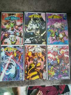 Marvel Infiniry Countdown & Cosmic Ghost Rider Comics