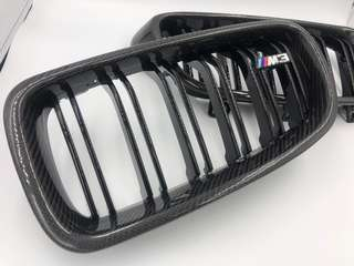 BMW F30 ABS Carbon Fiber Kidney Grill
