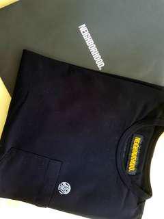 NBHD pocket tee (Black)