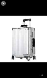 ANGATHER/方聚金屬合金拉桿箱鋁框行李箱國際密碼旅行箱