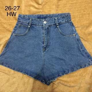 HW Highwaist Denim Shorts 3
