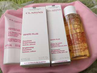 Clarins White Plus Brightening Kit