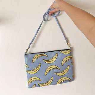Neon Island Banana 2-Way Bag