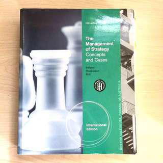 AB3601 Strategic Management Textbook