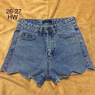 HW Highwaist Denim Shorts 7