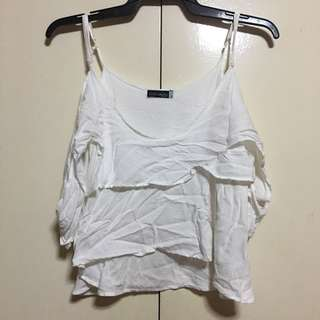 Coco Cabana White Cold Shoulder XL