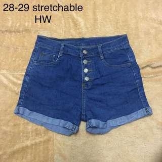 HW Highwaist Denim Shorts 14