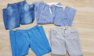 ALL H&M pants bundle 6 to 8 years old - 1,000 only!