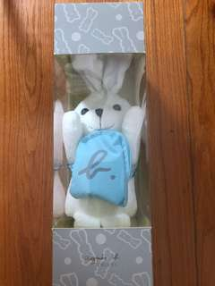 Agnes b Rabbit Laptin Doll Plush 兔兔 毛公仔