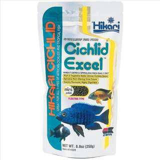 Hikari Cichlid Excel Floating Mini Pellet 250g