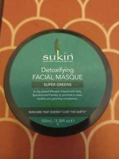 澳洲 SUKIN Detoxifying Facial Mask 100ml