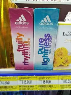 Obral parfum adidas..cuci gudang 118 k jadi 55 k