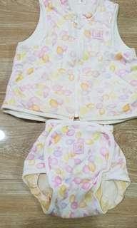 Wacoal sleeveless and bottom set 180 only size 80