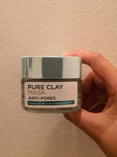 LOREAL Pure Clay Mask Anti Pores #50under
